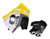 Rukavice COOLER WOV BioGel biela/žltá /Vel:XL